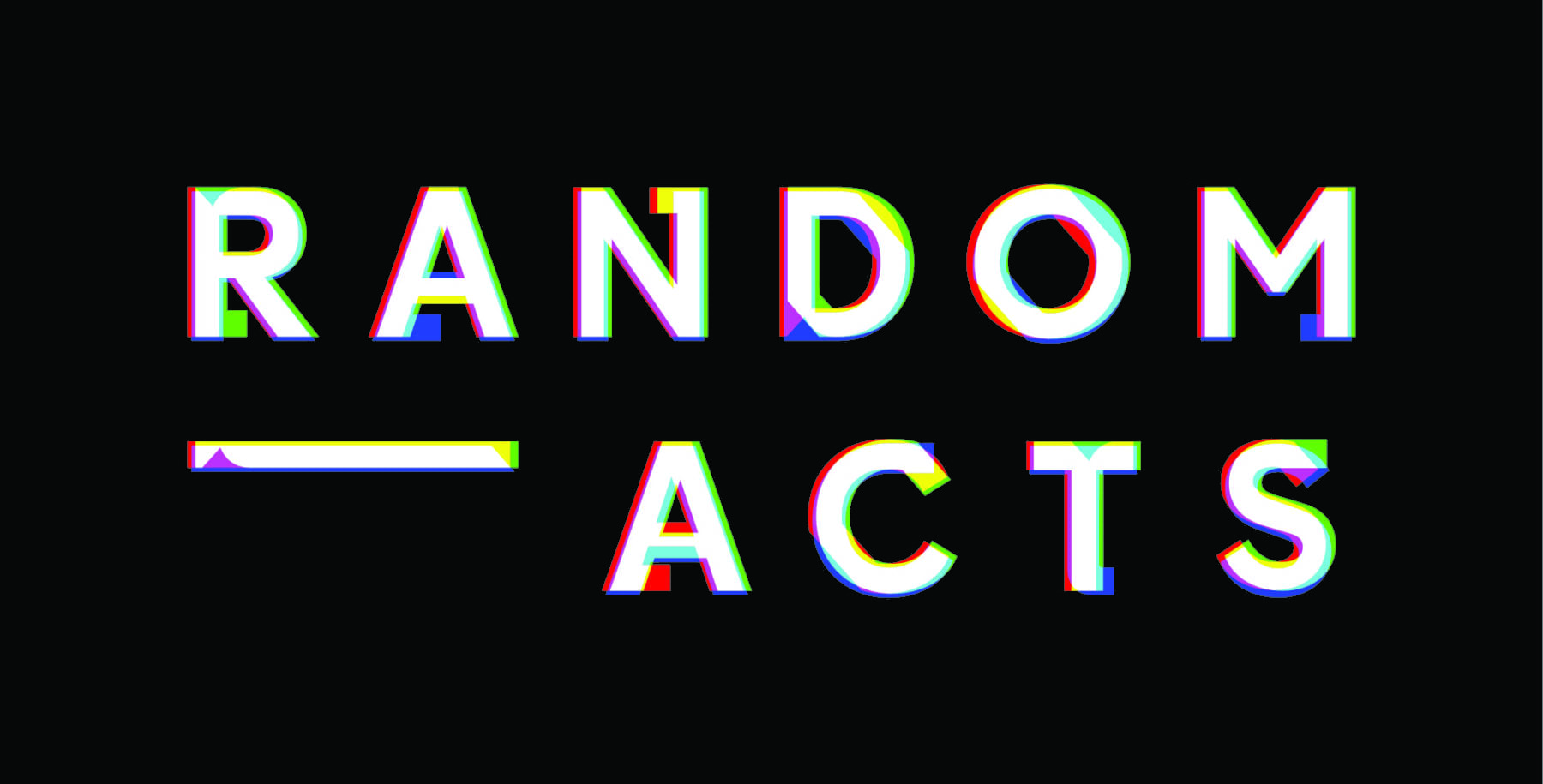 Masterclass at Random Acts: Creative Futures